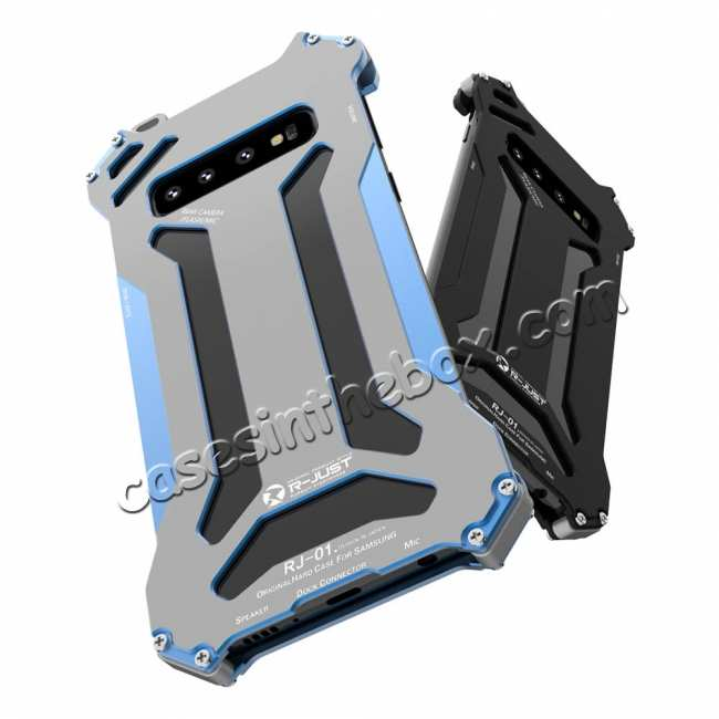 best price For Samsung Galaxy S10 Lite Aluminum Metal Shockproof Case - Blue