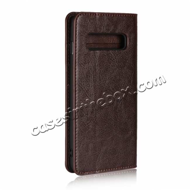 cheap Magnetic Wallet Genuine Leather Case Cover For Samsung Galaxy A51 S10 S20 Ultra Plus