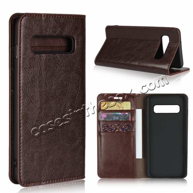 wholesale Magnetic Wallet Genuine Leather Case Cover For Samsung Galaxy A51 S10 S20 Ultra Plus