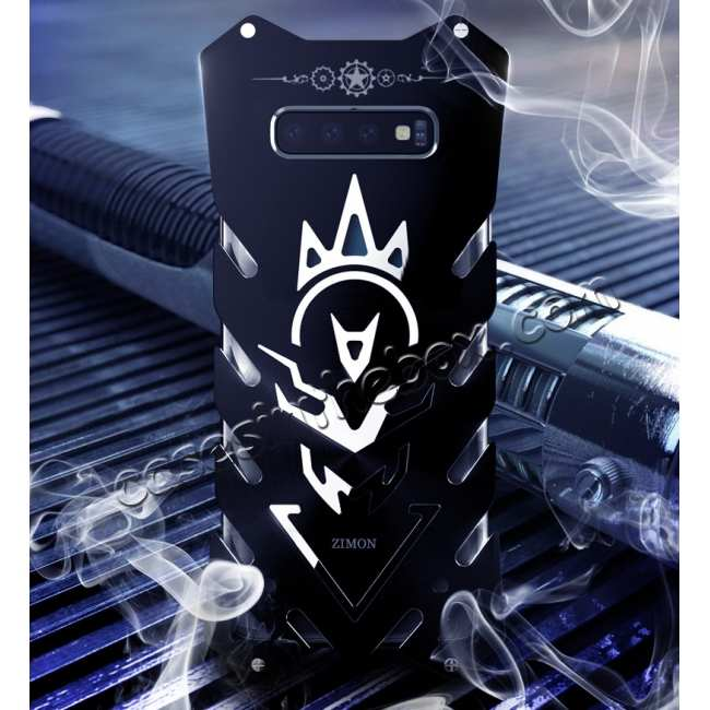 top quality Luxury Aluminum Metal Shockproof Case For Samsung Galaxy S10 - Black