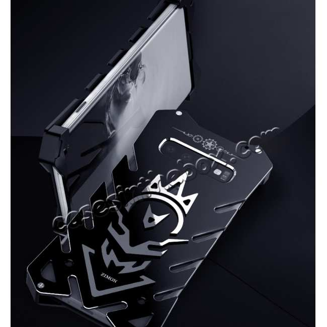 best price Luxury Aluminum Metal Shockproof Case For Samsung Galaxy S10 - Black