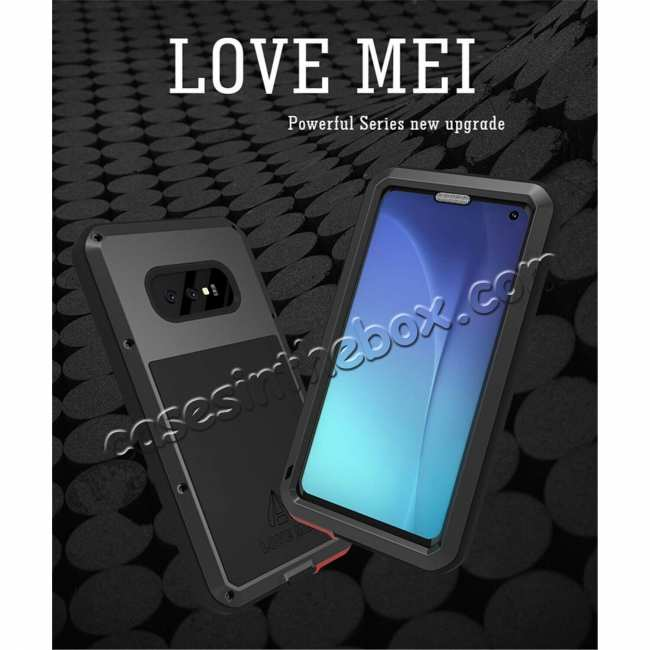 discount Shockproof Aluminum Metal Cover Case For Samsung Galaxy Galaxy S10 Plus /S10E /A8S /S10 /Note 9 S9 S9 Plus + FREE SHIPPING
