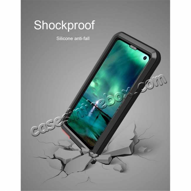 cheap Shockproof Aluminum Metal Cover Case For Samsung Galaxy Galaxy S10 Plus /S10E /A8S /S10 /Note 9 S9 S9 Plus + FREE SHIPPING