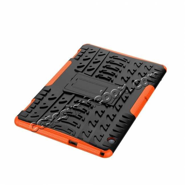 top quality For Huawei Mediapad T5 10 10.1inch Case Shockproof Rugged Armor Hybrid Protective Cover - Orange
