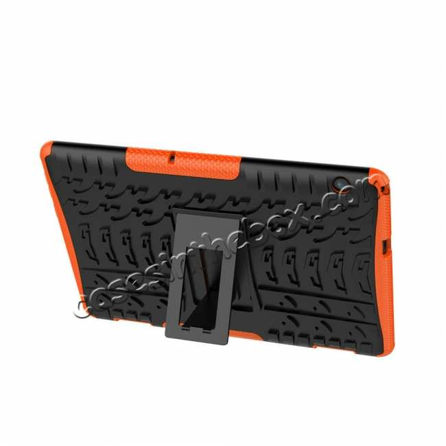 best price For Huawei Mediapad T5 10 10.1inch Case Shockproof Rugged Armor Hybrid Protective Cover - Orange