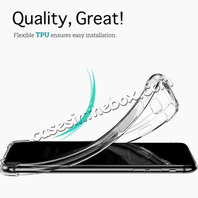 top quality For Samsung Galaxy S10 Plus Crystal Clear Ultra Slim TPU Phone Case Cover
