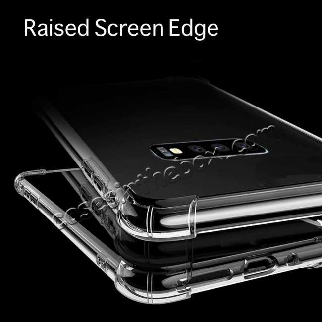 best price For Samsung Galaxy S10 Plus Crystal Clear Ultra Slim TPU Phone Case Cover