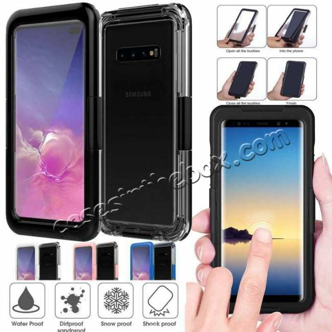 wholesale For Samsung Galaxy S10+ Plus Shockproof Waterproof Dirt Proof Case Full Cover