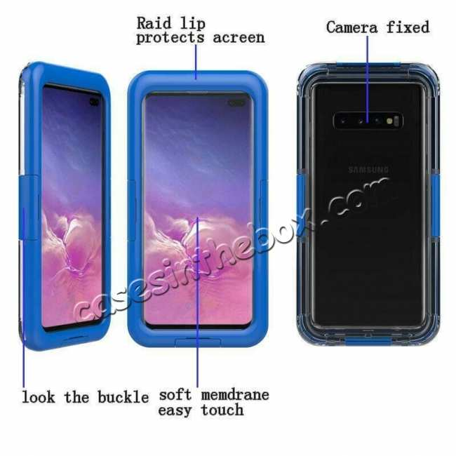 cheap For Samsung Galaxy S10+ Plus Shockproof Waterproof Dirt Proof Case Full Cover