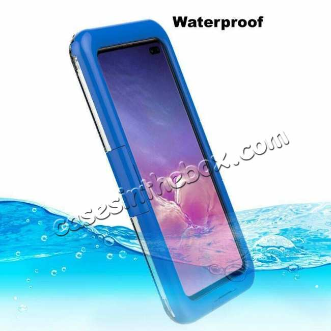 top quality For Samsung Galaxy S10+ Plus Shockproof Waterproof Dirt Proof Case Full Cover