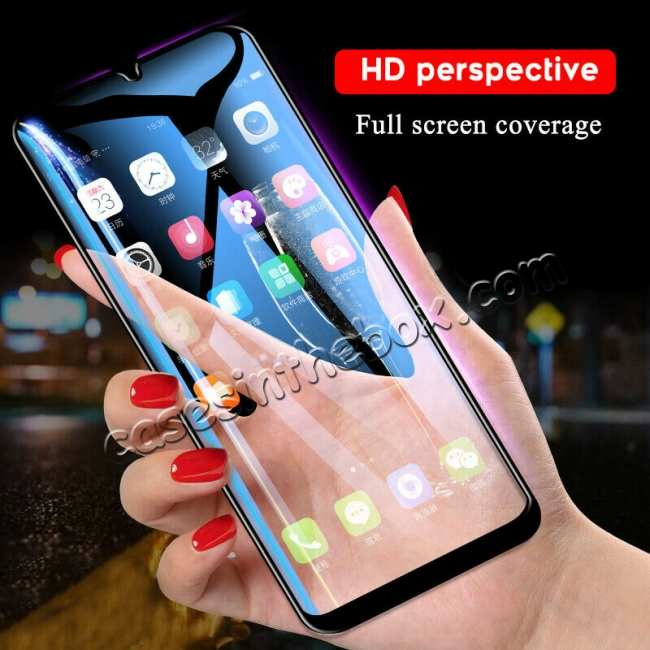 wholesale For Samsung Galaxy A50 Full Coverage Tempered Glass Screen Protector