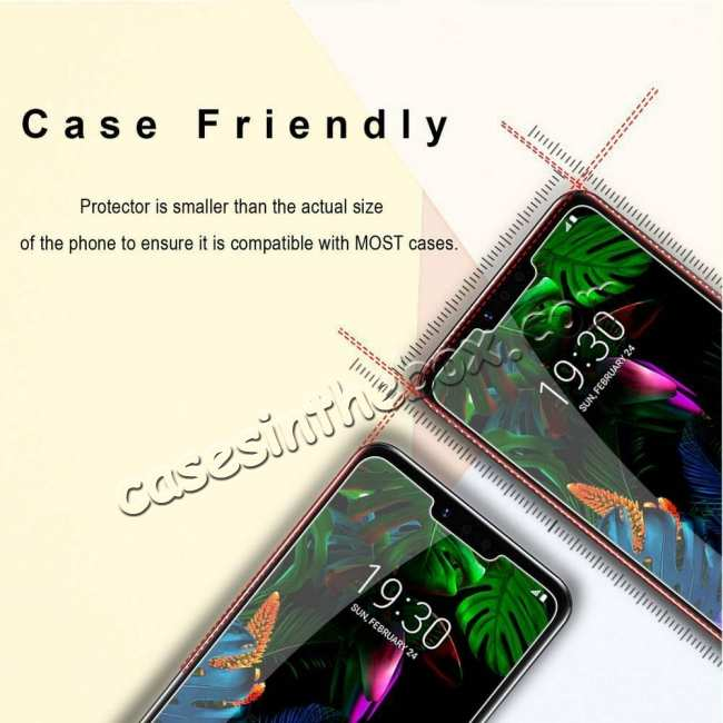 top quality 2-Pack For LG G8 ThinQ G820 9H Premium Tempered Glass Genuine Screen Protector