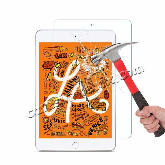 wholesale For iPad Mini 5 2019 Screen Protector 100% Genuine Tempered Glass LCD Film