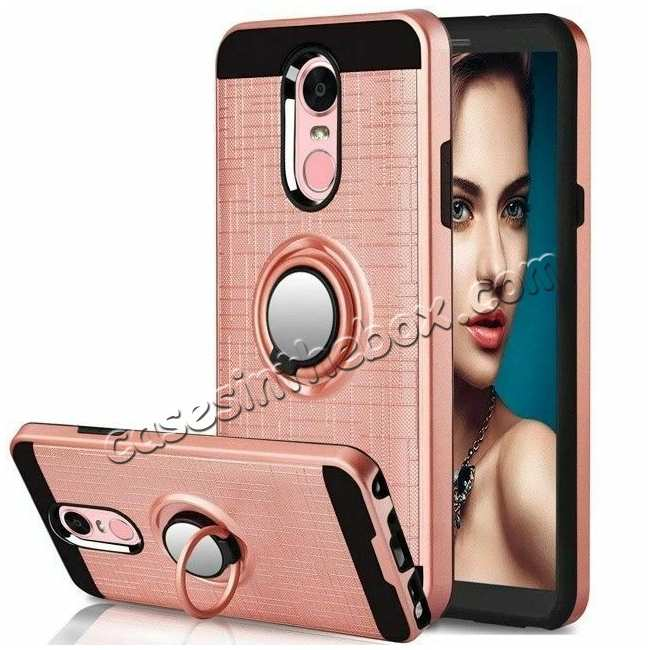 wholesale For LG Tribute Empire/Aristo 3/2 Phone Case Shockproof Hybrid Stand Armor Cover