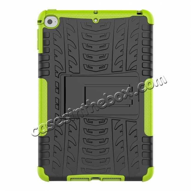 discount For iPad Mini 5 Case Protection Shockproof Rugged Cover- Green