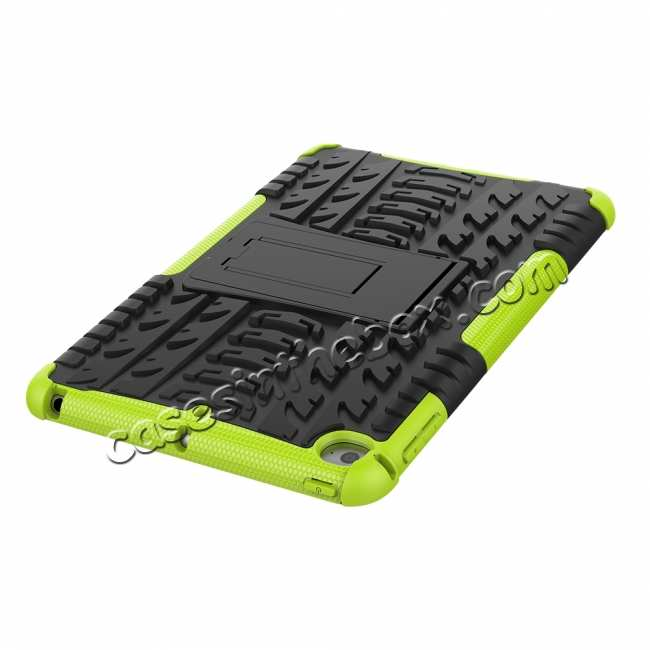 best price For iPad Mini 5 Case Protection Shockproof Rugged Cover- Green