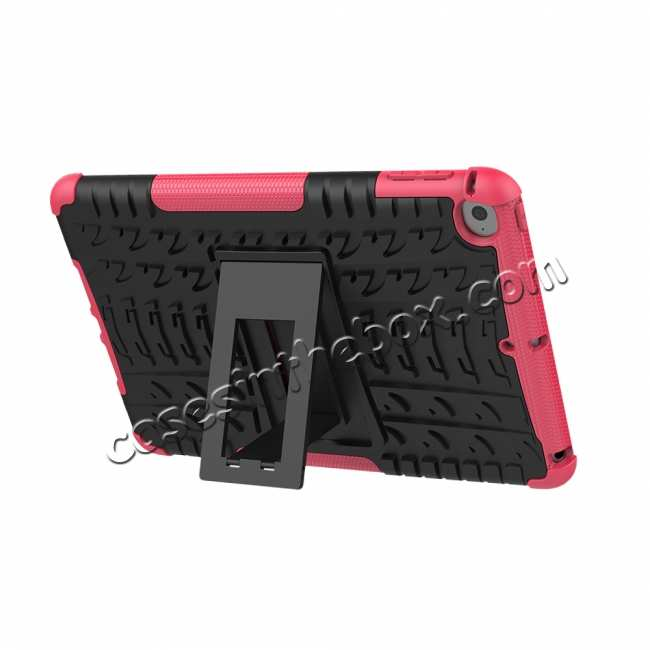top quality For iPad Mini 5 Kickstand Shockproof Case Hot Pink