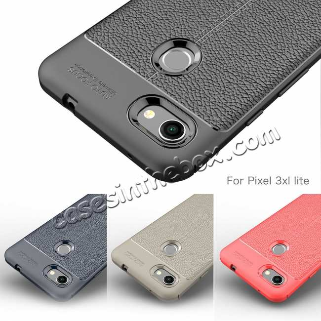 best price For Google Pixel 3A XL Case Shockproof Soft TPU Slim Silicone Matte Back Cover Red