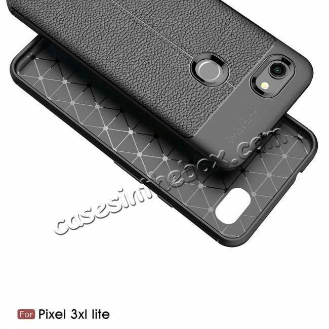 discount For Google 3A XL Case Shockproof Soft TPU Slim Back Cover Black
