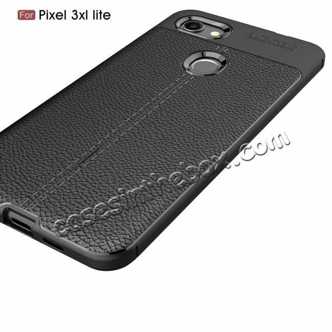 cheap For Google 3A XL Case Shockproof Soft TPU Slim Back Cover Black