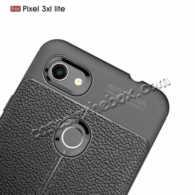 top quality For Google 3A XL Case Shockproof Soft TPU Slim Back Cover Black
