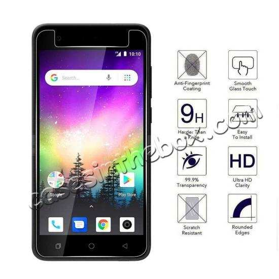 best price 2PCS For Coolpad Legacy Genuine HD Clear View 9H Tempered Screen Glass Protector Film
