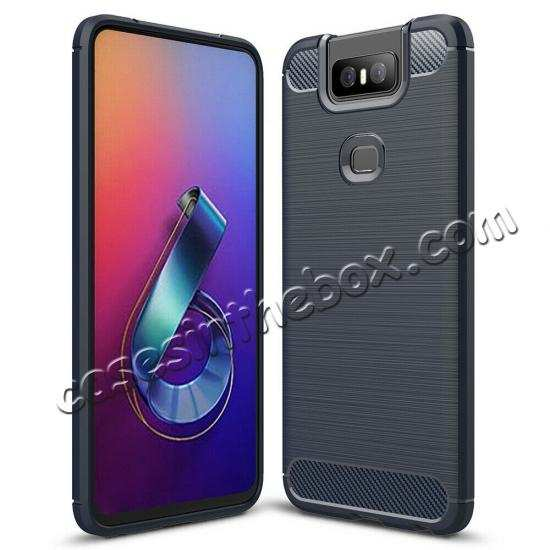 top quality For ASUS ZenFone 6(2019) Case Slim Soft Rubber TPU Shockproof Phone Cover