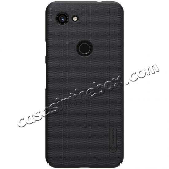 discount For Google Pixel 3a Case NILLKIN Matte Slim Plastic Shield Back Cover