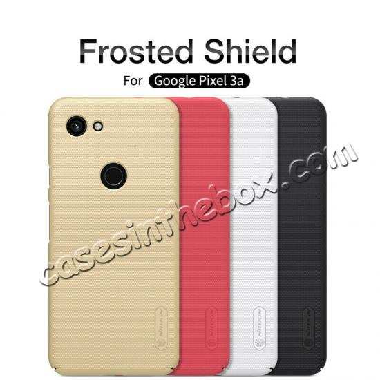 wholesale For Google Pixel 3a Case NILLKIN Matte Slim Plastic Shield Back Cover
