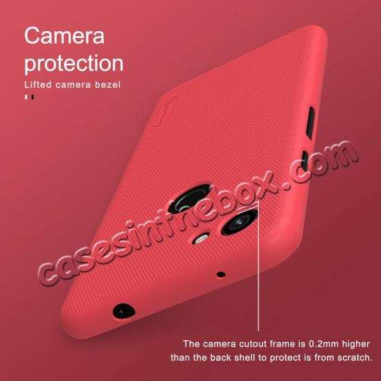 China leading wholesale For Google Pixel 3a Case NILLKIN Matte Slim Plastic Shield Back Cover