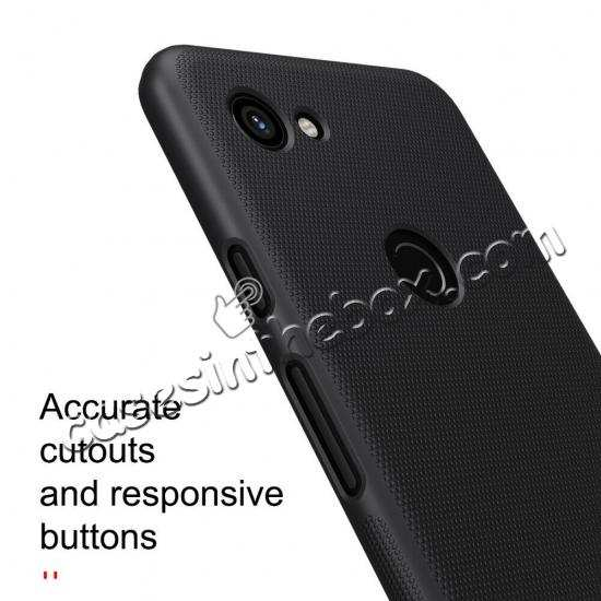 cheap wholesale For Google Pixel 3a Case NILLKIN Matte Slim Plastic Shield Back Cover