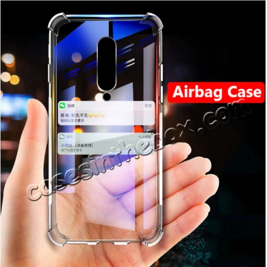 wholesale For OnePlus 7 / 7 Pro Case Shockproof Thin Soft TPU Clear Cover Skin