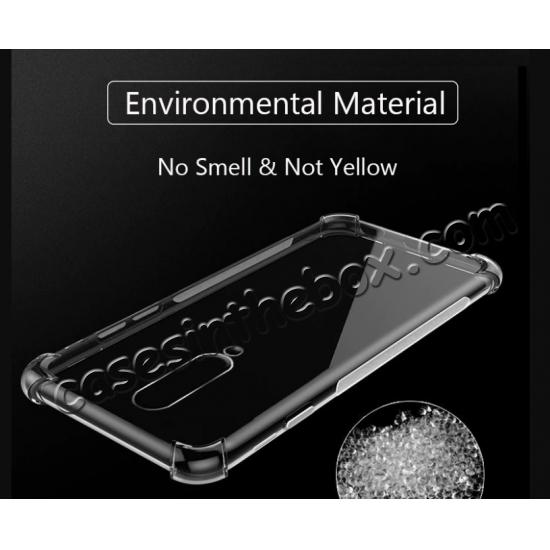 top quality For OnePlus 7 / 7 Pro Case Shockproof Thin Soft TPU Clear Cover Skin