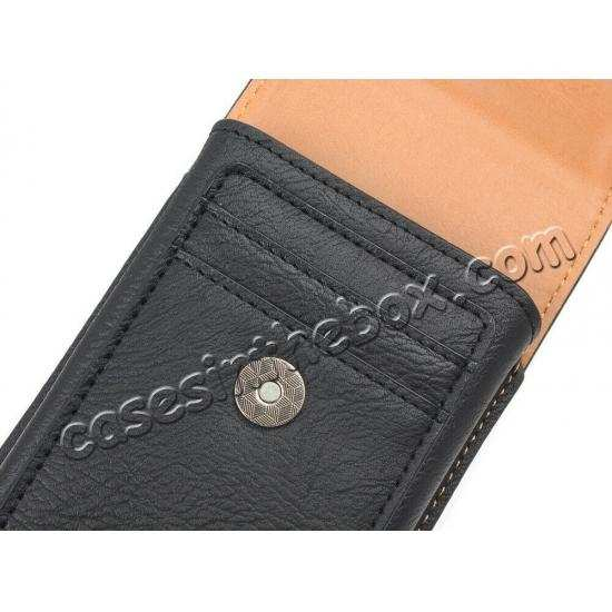 discount For OnePlus 7 Pro Leather Case Card Slot Wallet Belt Clip Loop Pouch Cover