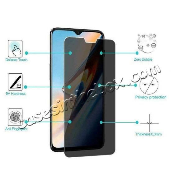 discount For OnePlus 7 Pro Privacy Screen Protector Premium Tempered Glass Film