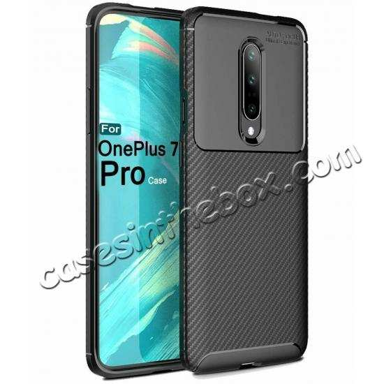 discount For OnePlus 7 Pro Shockproof Case Soft Slim Protective Back Cover