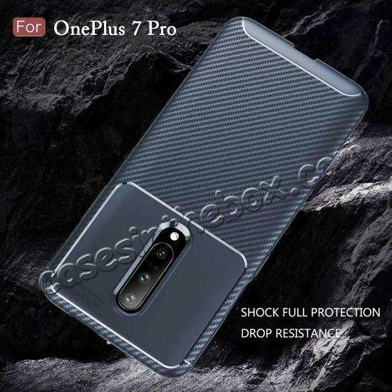 cheap For OnePlus 7 Pro Shockproof Case Soft Slim Protective Back Cover