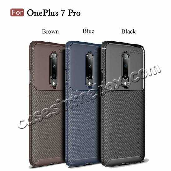 wholesale For OnePlus 7 Pro Shockproof Case Soft Slim Protective Back Cover