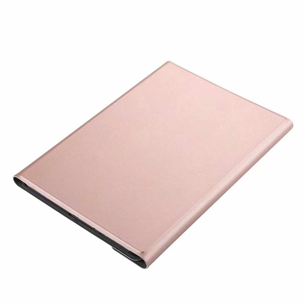 top quality For Samsung Galaxy Tab S5e 10.5 SM-T720/T725 Detachable Bluetooth Keyboard Leather Case - Rose Gold