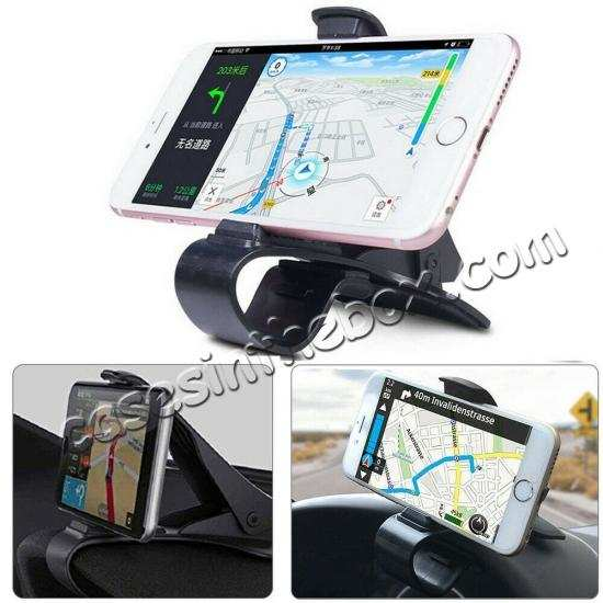 best price Universal Car Dashboard Mount Holder Stand HUD Design Cradle for Cell Phone GPS