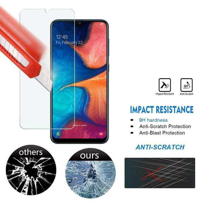 discount 2-Pack For Samsung Galaxy A20e 9H Tempered Glass Screen Protector Clear