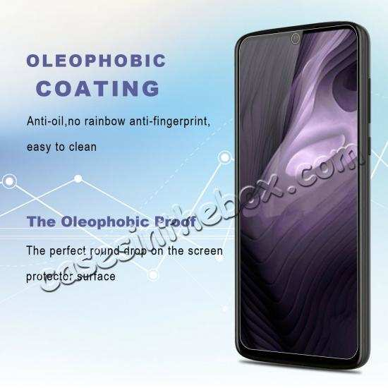 best price For Motorola Moto Z4 Clear 9H HD Tempered Glass Screen Protector Film Cover