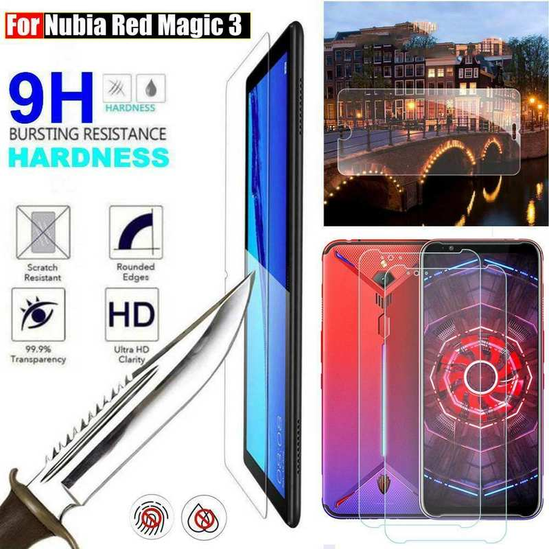 discount For Nubia Red Magic 3  9H Clear Premium Tempered Glass Screen Protector