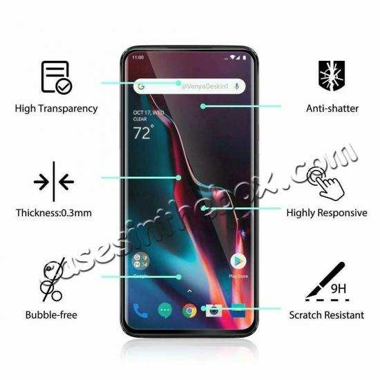 wholesale For OnePlus 7 Pro 3D Full Cover Tempered Glass Screen Protector