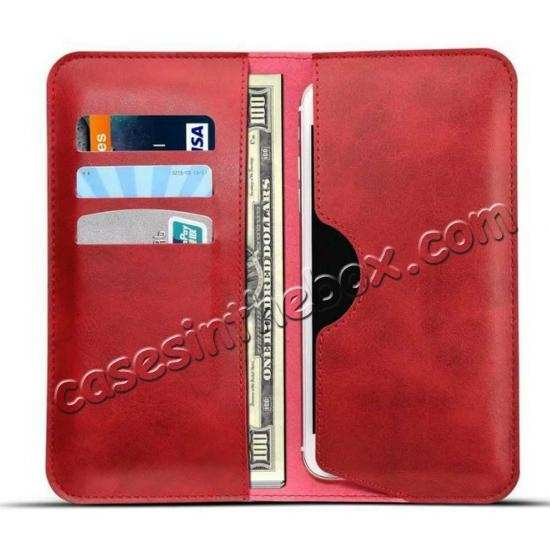 low price For OnePlus 7 Pro Wallet Case Card Pocket Holder Leather Flip Cover