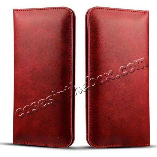 China leading wholesale For OnePlus 7 Pro Wallet Case Card Pocket Holder Leather Flip Cover