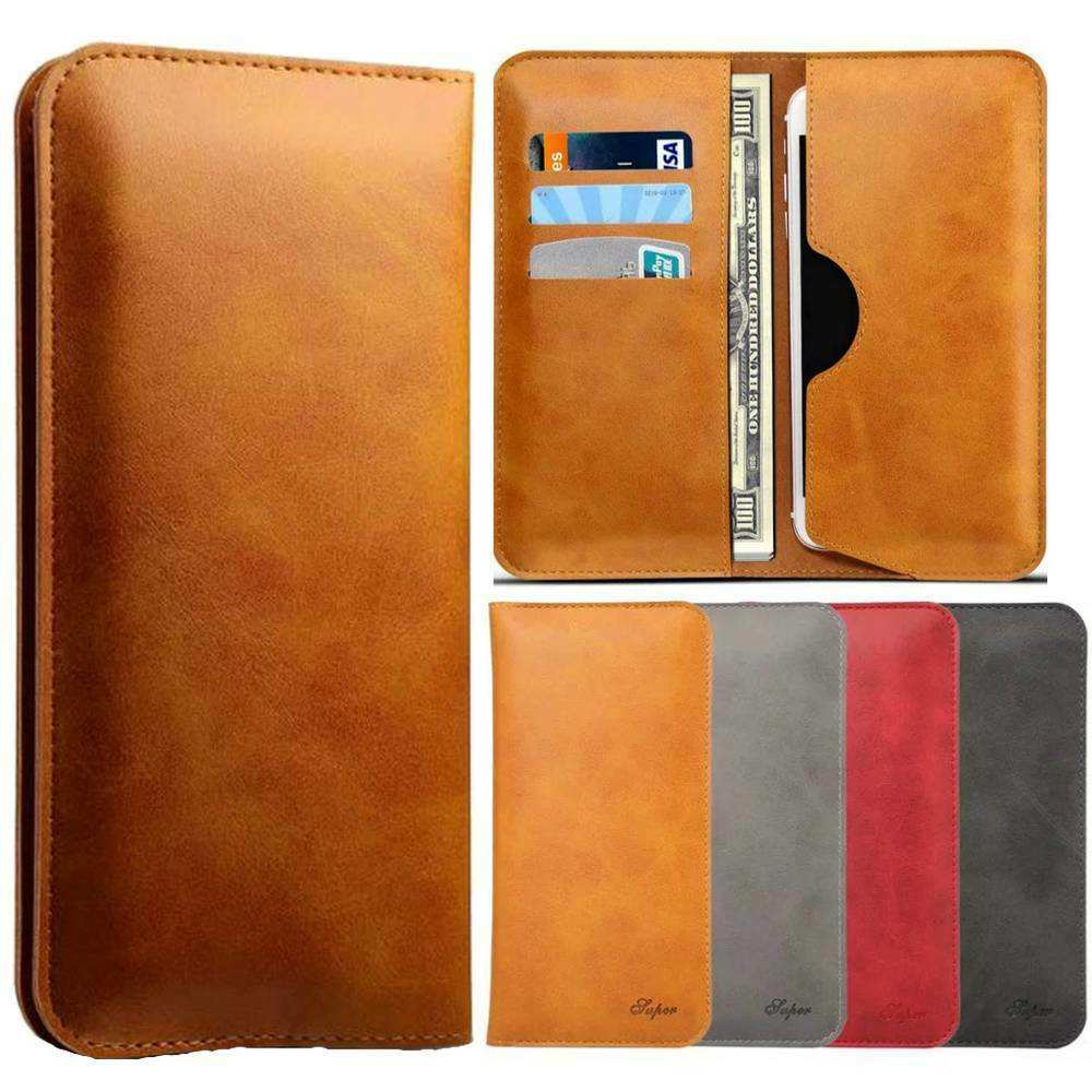 discount For OnePlus 7 Pro Wallet Case Card Pocket Holder Leather Flip Cover