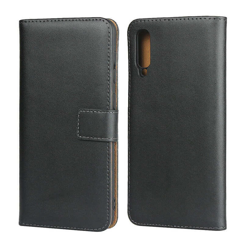 wholesale For Samsung Galaxy A50 Genuine Leather Wallet Case Cover