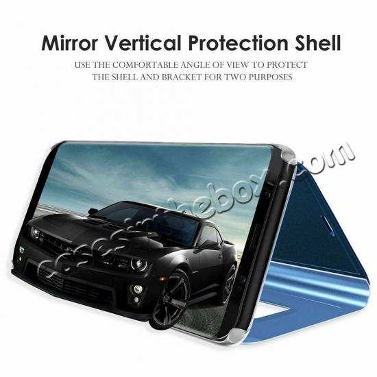 best price For Samsung Galaxy A80 Smart View Screen Touch Mirror Flip Stand Case Cover