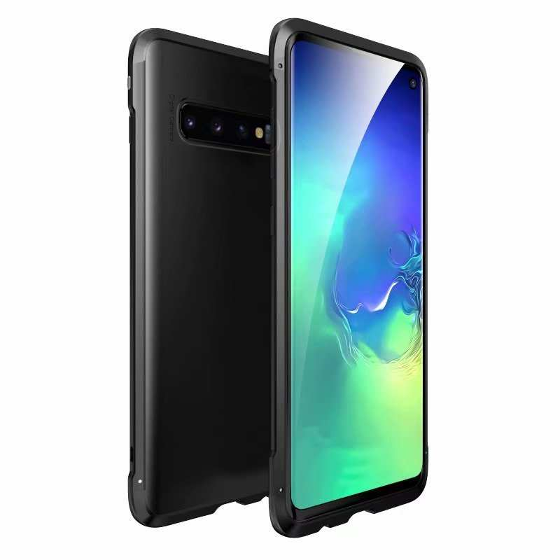wholesale For Samsung Galaxy S10 Plus Shockproof Hybrid Case - Black